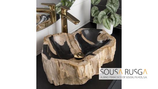 Um lavatório arrojado faz toda a diferença numa sala de banho!