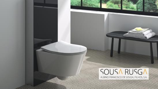 Procura uma solução exterior para instalar uma sanita suspensa?