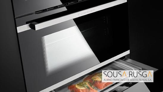 Procura um forno com gaveta de vácuo?