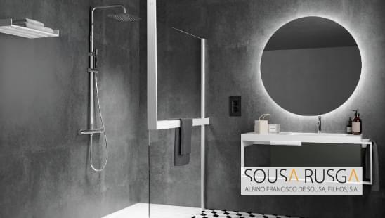 Reinvente a área de duche e dê-lhe um ar moderno!