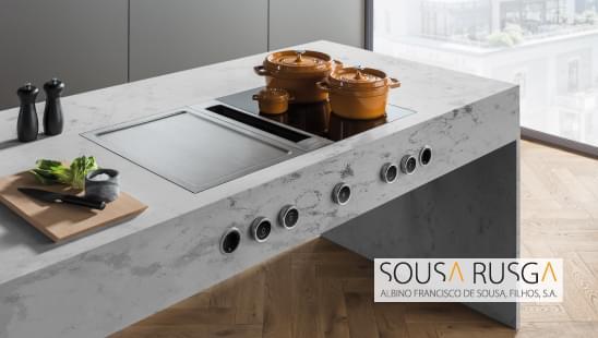 Escolha uma solução completa e integrada para a sua cozinha