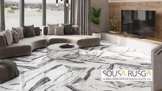 O contraste criado pelo pavimento, dá vida e um ambiente moderno à sua casa!