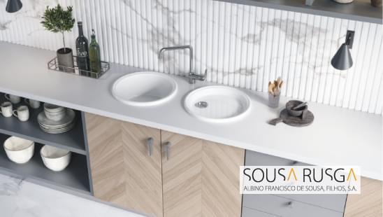 Procura um lava-louças de cozinha com duas pias independentes?