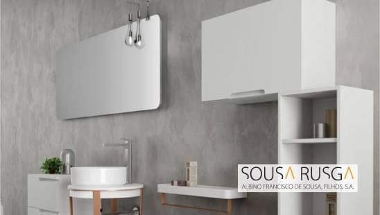 Estes móveis são uma possibilidade que lhe confere uma decoração criativa e única à sua sala de banho.